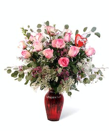 Valentine's Day Pink Roses