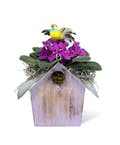 Blooming Birdhouse
