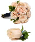 Blush Rose Hand Tied Bouquet