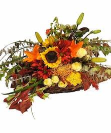 Harvest Cornucopia - Uniontown (PA) Neubauers Flowers