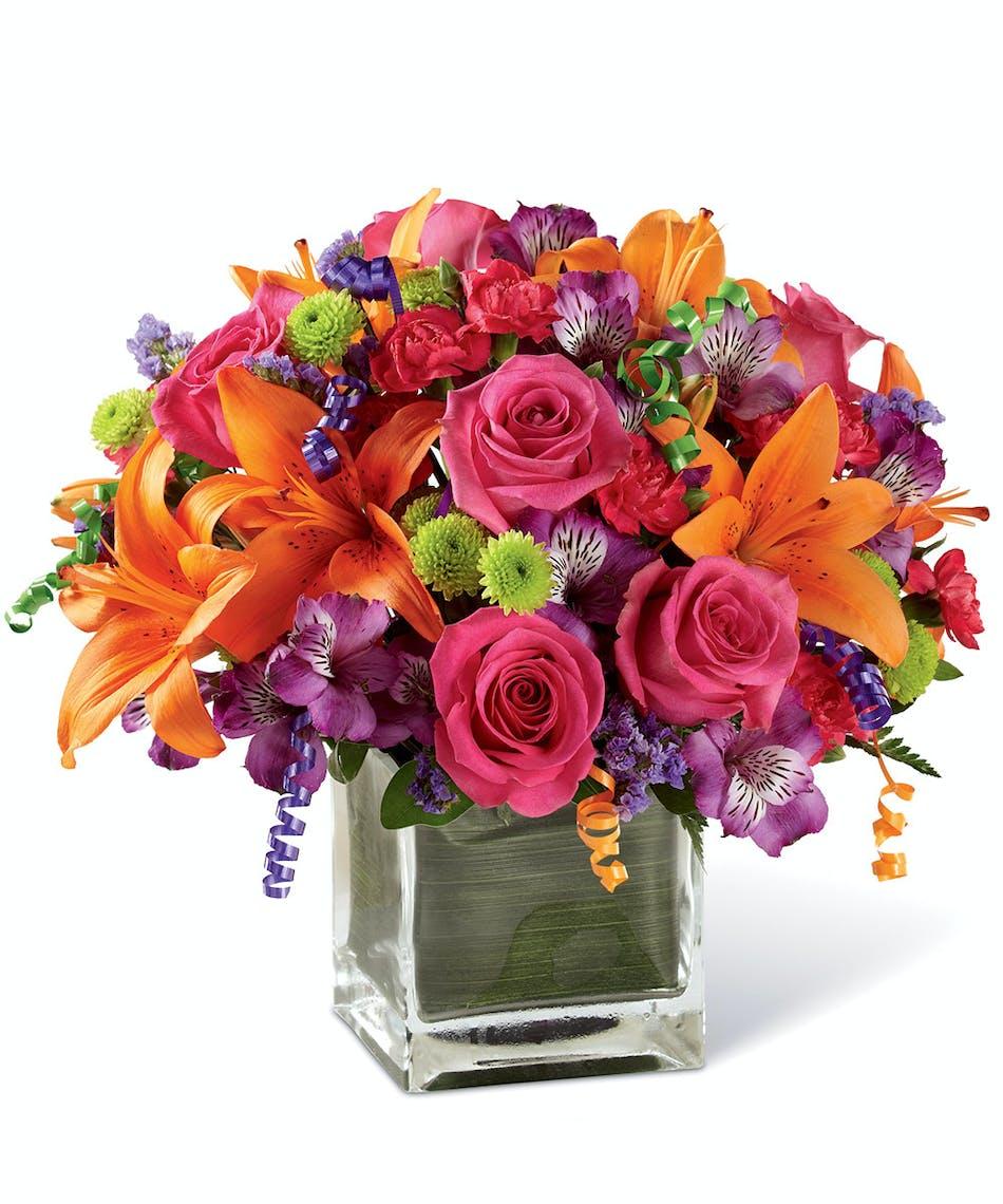 Birthday cheer bouquet neubauers flowers birthday cheer bouquet uniontown pa izmirmasajfo