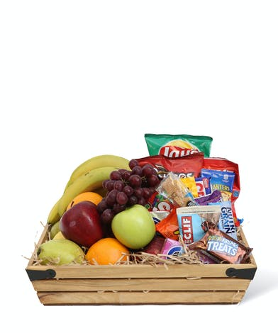 Fruit & Snack Basket - Neubauer's Flowers & Gifts