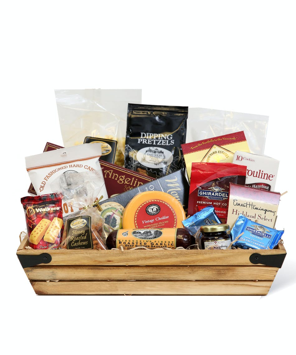 Gourmet Basket Delivery Connellsville (PA) Same-day by Neubauer's Flowers & Gifts