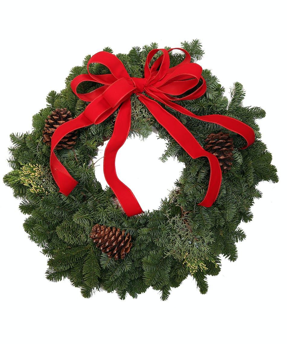 Moderate Mixed Pine Wreath Uniontown, PA