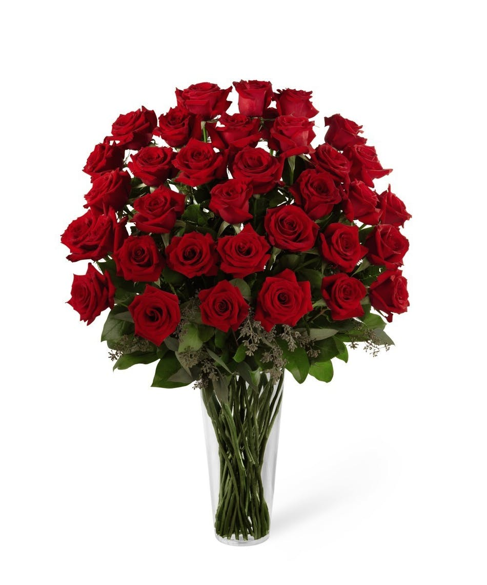 Red Rose Bouquet Uniontown Pennsylvania Florist Flower Delivery