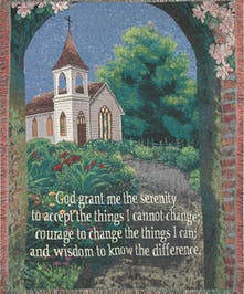 Serenity Prayer - Church