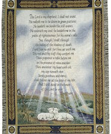 23rd Psalm - Sheep