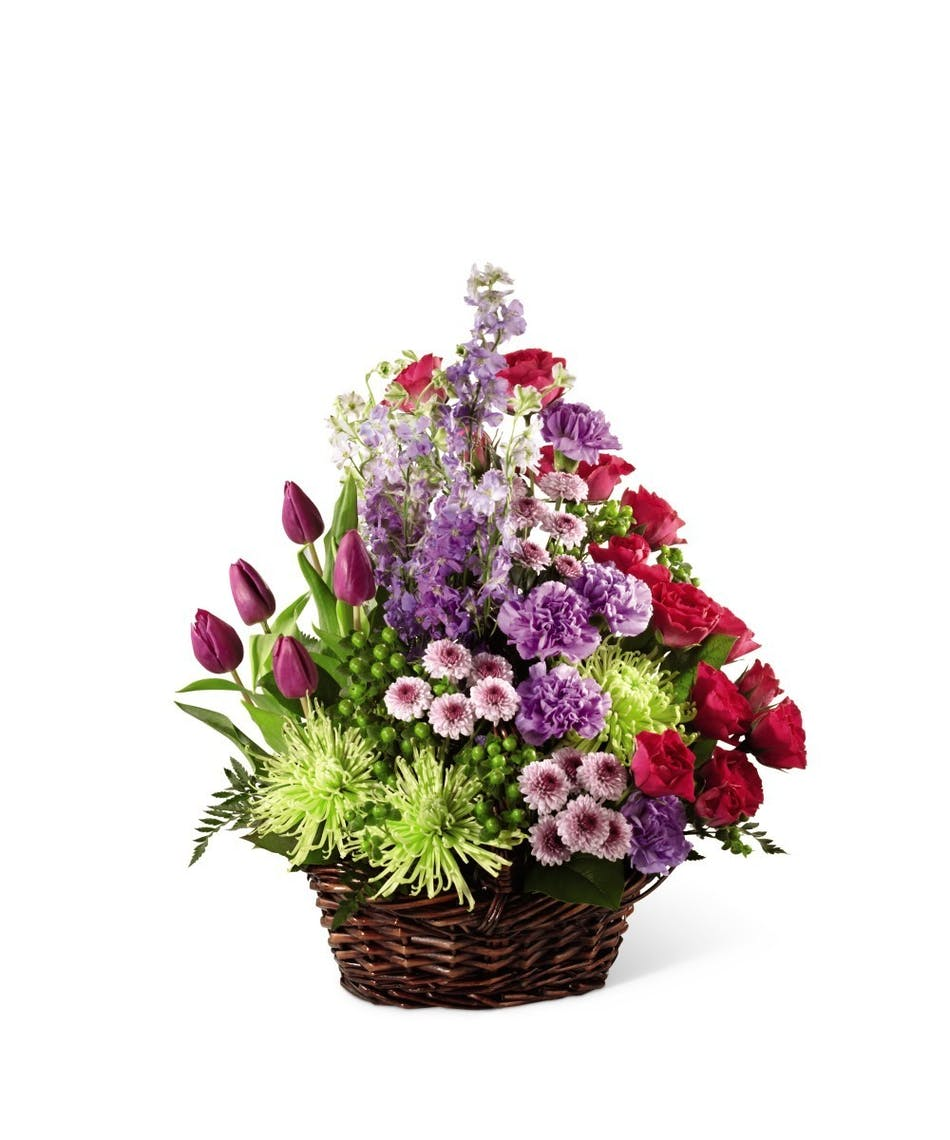 A Basket Full Of Spring Neubauers Flowers