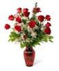 Valentine's Day Red Roses - Long Stemmed