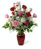 Valentine's Day Classic Mix Roses - Long Stemmed