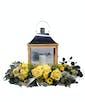 Amazing Grace Lantern - With Flowers