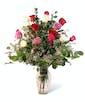 Classic Mixed Dozen Roses - Premium