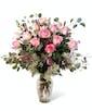 Pink Dozen Roses - Premium