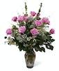 Purple Dozen Roses - Premium
