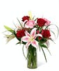 Roses and Stargazer Lilies - Exquisite