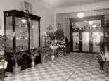 An interior view of our showroom, as seen in the early 20th century
